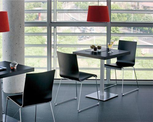 Sedia ristorante modello Kuadra