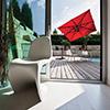 Coperture bar, Coperture ristorante: ombrellone modello garda grafite