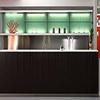 Banco bar in rovere o legno teak