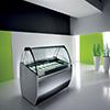 vetrine per la gelateria dal design unico e estremamamente adattabile ad ogni ambiente