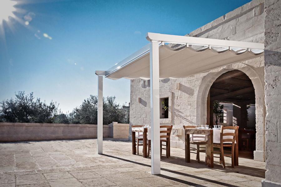Copertura bar ristorante Sanremo light