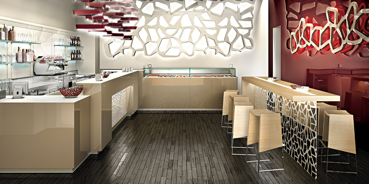 Azienda di arredo bar ristorante locali chiavi in mano for Ifi arredamenti bar