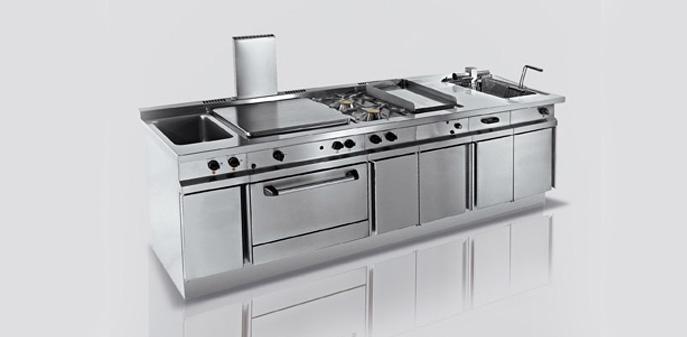 Cucine professionali per la ristorazione degart for Cucine professionali per casa