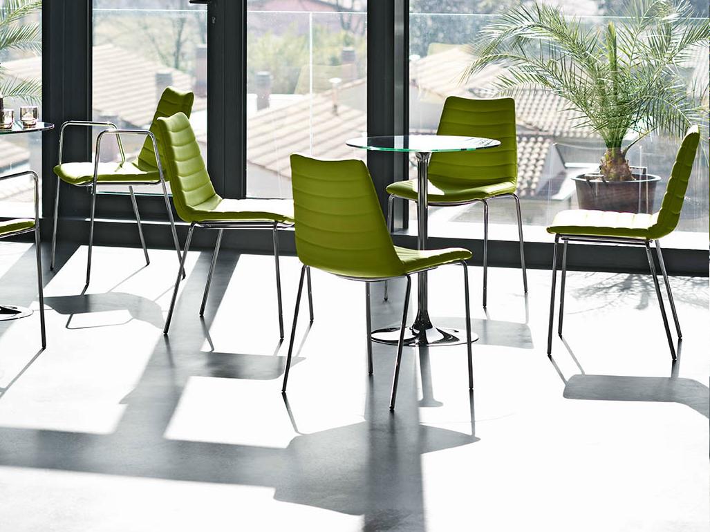 sedia da bar o ristorante modello cover per ambienti