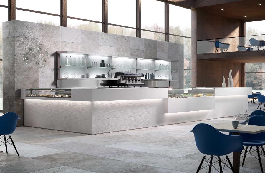 Banco bar moderno modello Manhattan