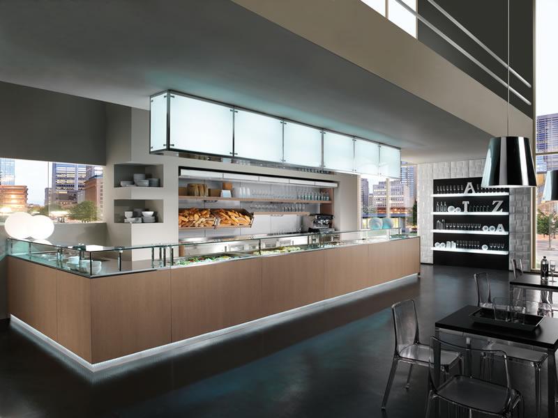 Banco bar multifood originale dinamico design for Arredo bar dwg