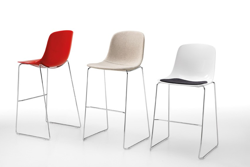 Sgabello bar Pure Loop Stool