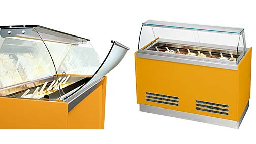 Vetrina gelato modello K10