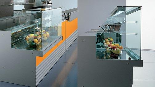 Vetrina snack bar K10 - Vetrina snack bar, pasticceria, gelateria