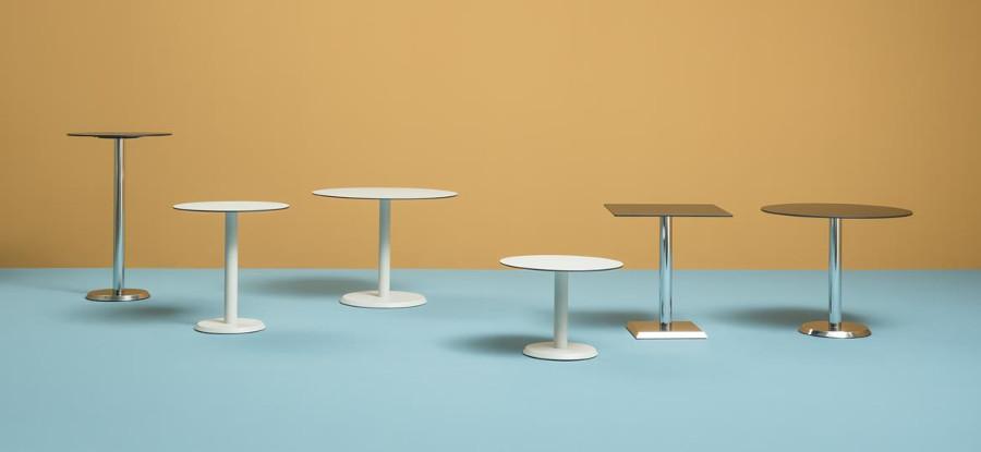 Tavolo bar linea con piani quadrati o rotondi in diversi for Piani di cabina di 800 piedi quadrati
