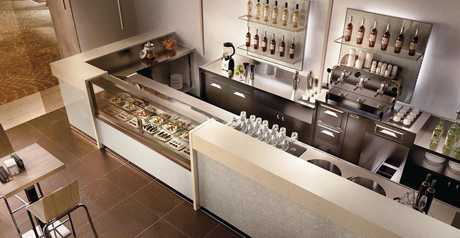 Vendita arredo bar attrezzature ristorante e alberghiere for Arredamento per bar ristorante