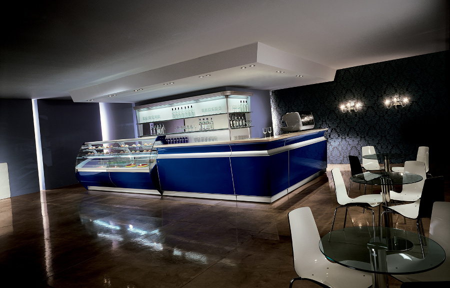Banco bar modeno modello Boston