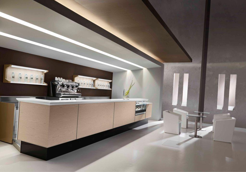 Banco bar maxim per un arredo il bar dall 39 estetica for Arredamento moderno bar