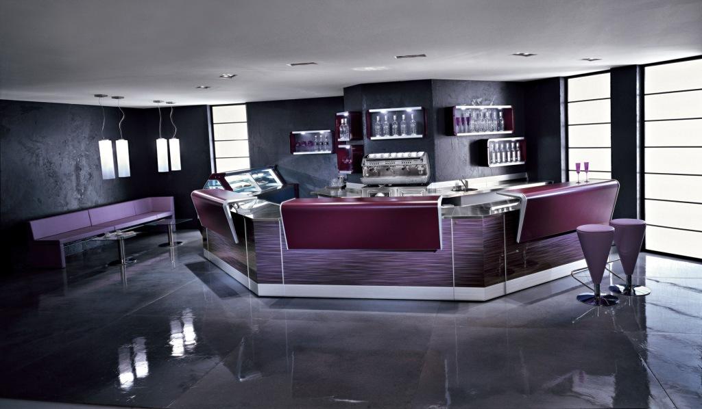 Bancone bar beverly proposto in quattro colorazioni degart for Usato bancone bar