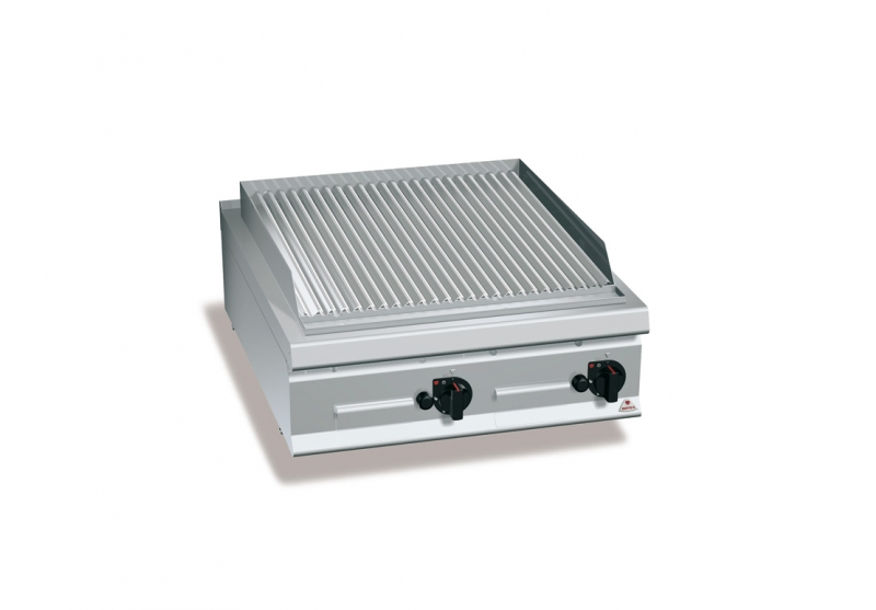 Griglia pietralavica a gas Mod. LXG9PL80