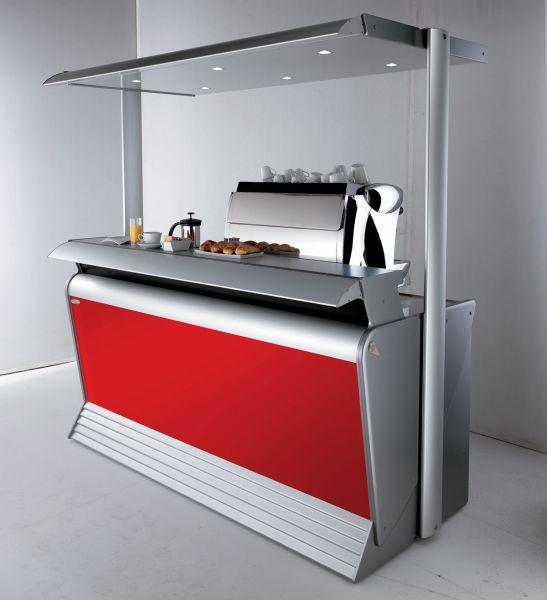 Banco bar modello kart degart for Arredo bar usato da fallimenti