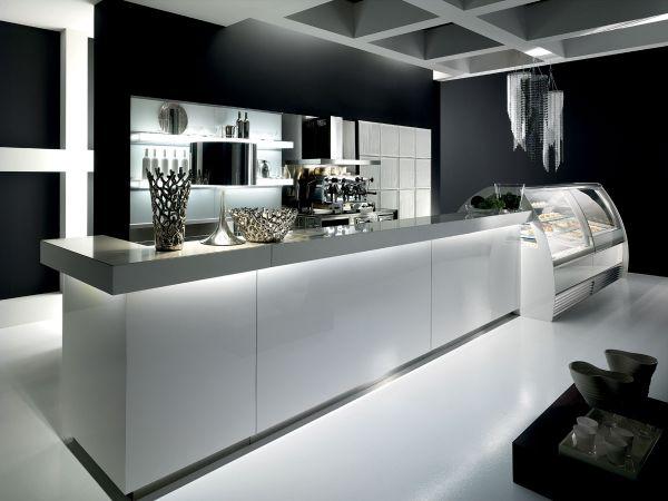 Banco bar modern degart - Moderne lounge en voormalig ...