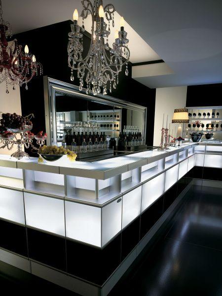 Banco bar strip fashion degart for Arredamento pasticceria prezzi